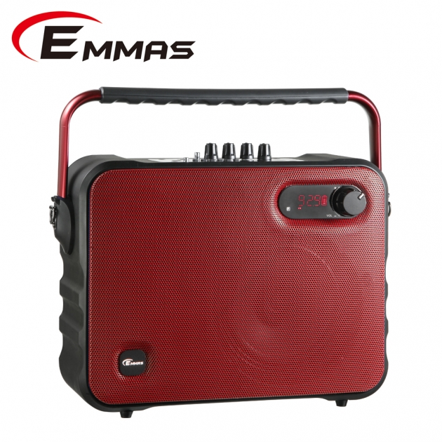 EMMAS 移動式藍芽喇叭/教學無線麥克風 (T-68) 5