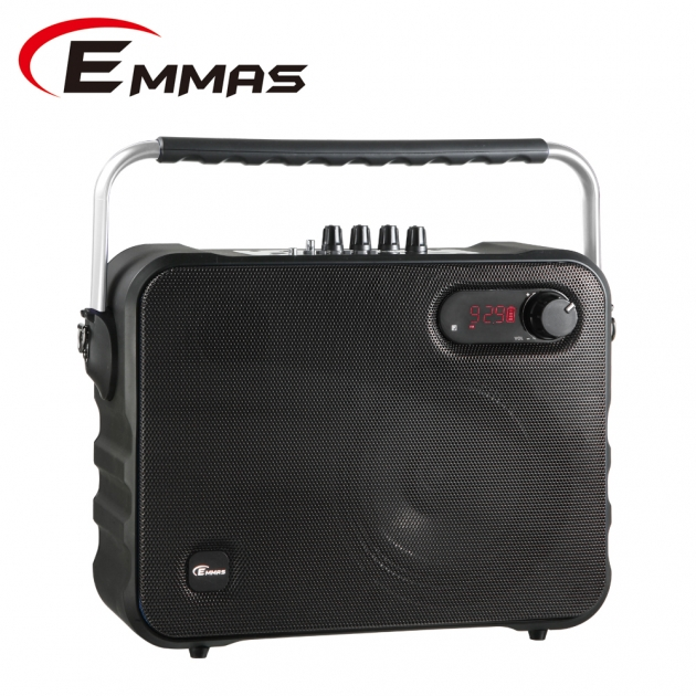 EMMAS 移動式藍芽喇叭/教學無線麥克風 (T-68) 4