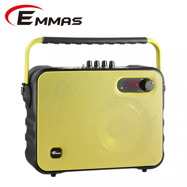 EMMAS 移動式藍芽喇叭/教學無線麥克風 (T-68) 3